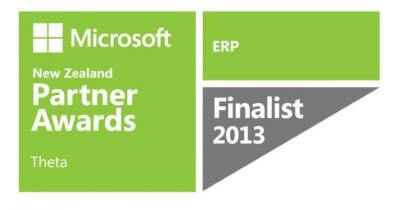 Microsoft Partner Awards finalist - ERP