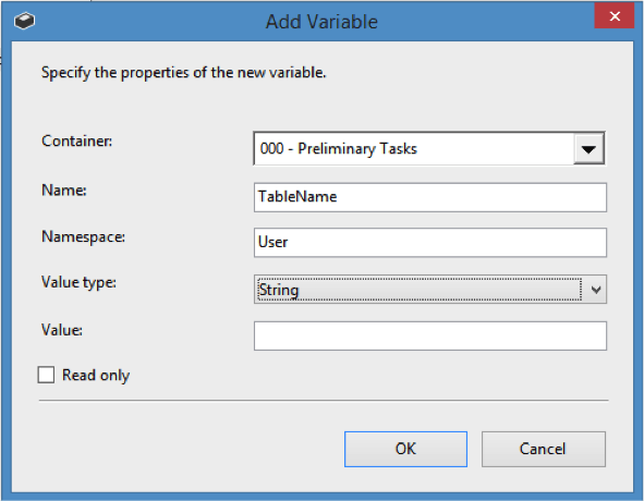 Add variable