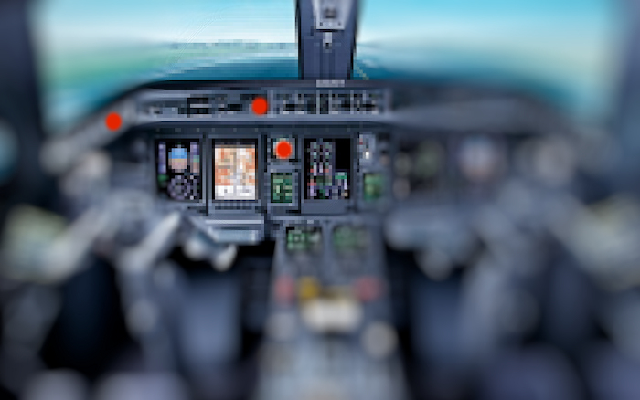 airliner dashboard
