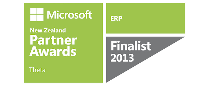 Microsoft Partner Awards 2013 finalist - ERP
