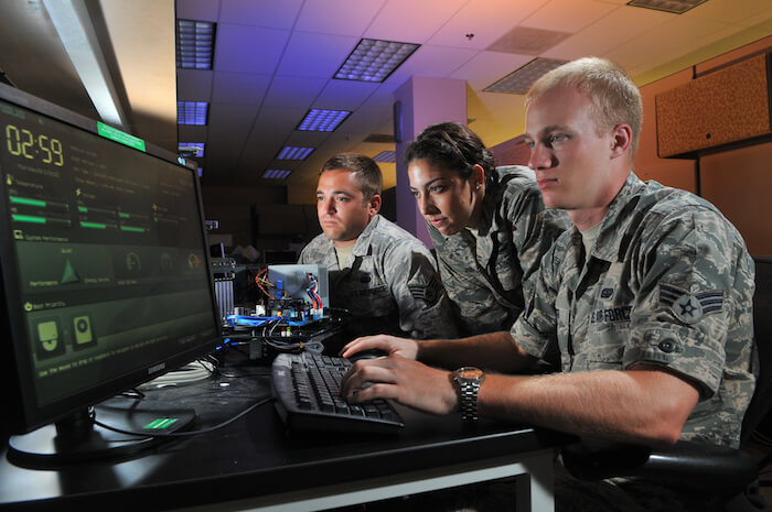 US Airforce cyber operations