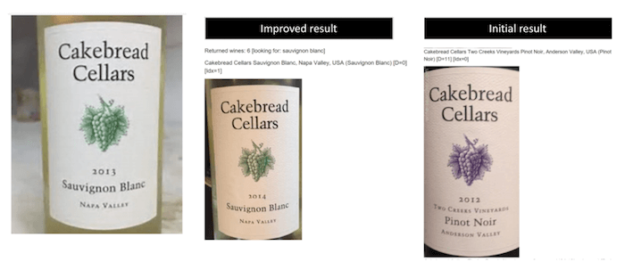 similar wine labels